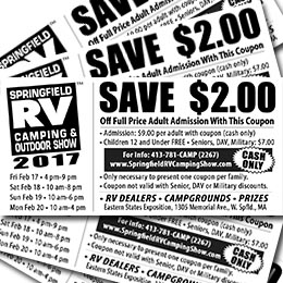Pittsburgh rv show discount coupon